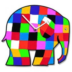 Elmer the Elephant Wall Clock