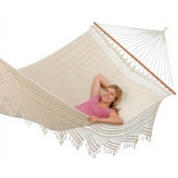 Extra Large Woven Palacio Spreader Bar Hammock