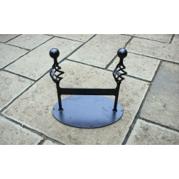 Classic Solid Steel Boot Scraper - Black