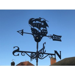 Galleon Ship Weathervane