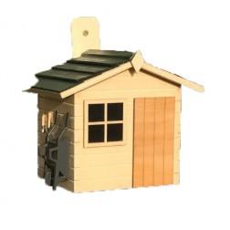 Garden Shed Hanging Bird House