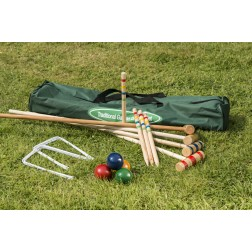 Family Croquet Set in Canvas Bag