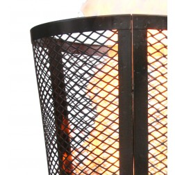 Large Outdoor Steel Garden Incinerator