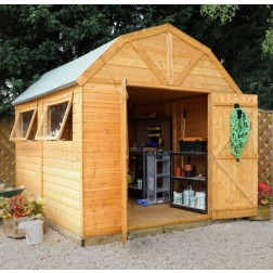 Gowan Dutch Style Tongue and Groove Shed/Workshop (10x8)