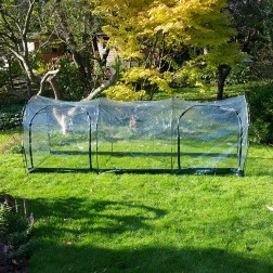 Top Quality Garden Polytunnel 3m length re-useable greenhouse/cloche - protection from weather and pests
