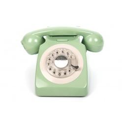 Retro Rotary Telephone - Mint Green
