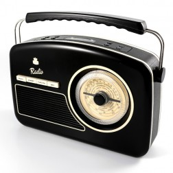 Rydell 50's DAB Radio - Black
