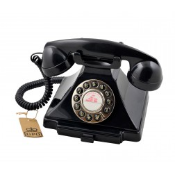 Classic 20th Century Telephone - Black