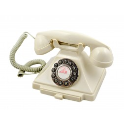Classic 20th Century Telephone - Ivory
