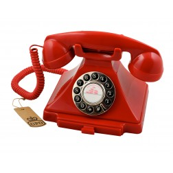 Classic 20th Century Telephone - Red