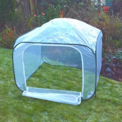 Pop-Up Garden Poly Mesh House Mini Greenhouse - 1.00m x 1.00m x 0.75m High
