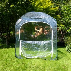 Pop-up Mesh Garden Greenhouse 1.25m x 1.25m x 1.35m High