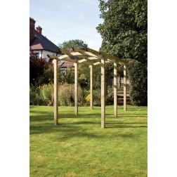 Melbury Garden Arched Walkway