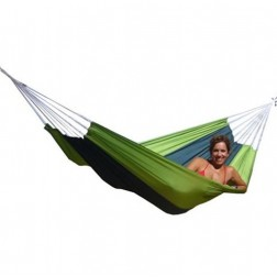 Forest Green Silk Traveller Hammock