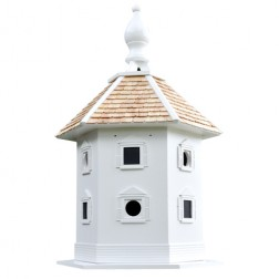 Danbury Dovecote Bird House - White