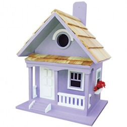 Cottage Bird House - Lilac
