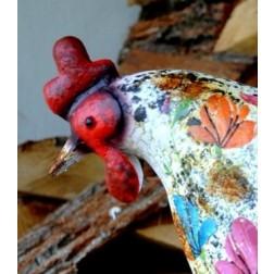 Harriet the Hen Ornament