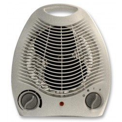2kW Portable Electric Fan Heater