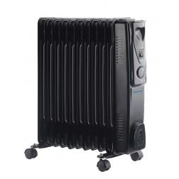 11 Fin 2.5kW Oil Filled Heater - Black