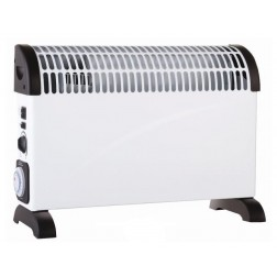 2kW Freestanding Convector Heater with Timer