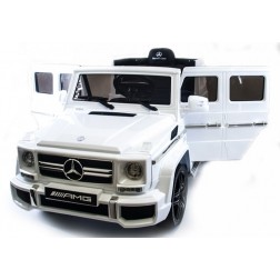 Licensed Mercedes Jeep 12v Electric Ride on Car - White
