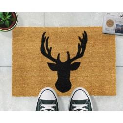 Stag Head Doormat