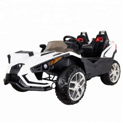 Polaais 12V Electric Ride on Buggy - White