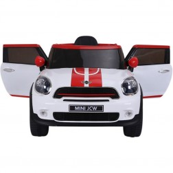 Licensed Mini Cooper 12v Electric Ride on Car - White
