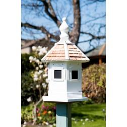 Kensington Dovecote Bird House - White