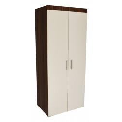 Off-White 2 Door Wardrobe