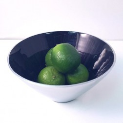 Small Blue Tapered Bowl
