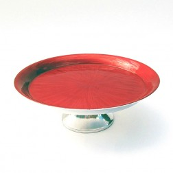 Large Red Cake Stand