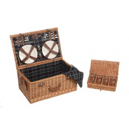 4 Person Willow Picnic Hamper