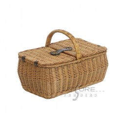 4 Person Willow Basket