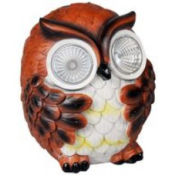Small Owl Garden Solar Light
