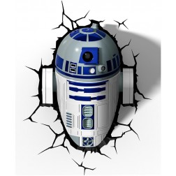 Star Wars R2D2 Wall Light