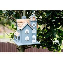 Little Manor Bird House - Blue