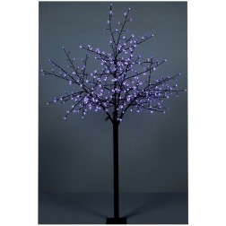 Colour Changing Christmas Cherry Tree - 2.5m
