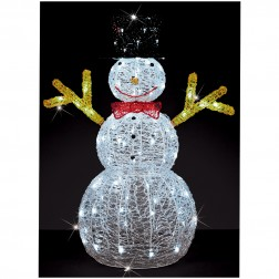 90cm LED Christmas Snowman