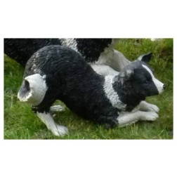 Sheep Dog Garden Ornament