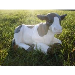 Sitting Cow Garden Ornament