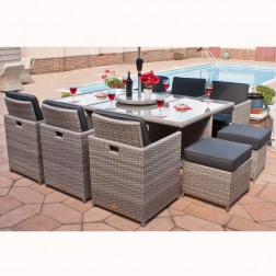 Casamore Madrid 6 Seater Cube Set