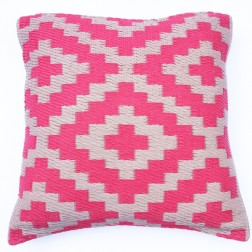 Pink and Cream Cushion