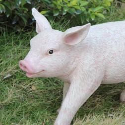 British Pig Garden Ornament