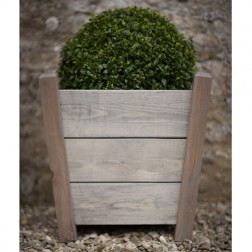 Spruce Wood Large Tapered Planter