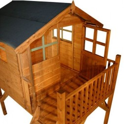 Kingsdale 5' x 5' Outdoor Childrens Playhouse & Tower