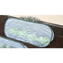 Medium Pop-Up Garden Poly Cloche / Cold Frame / Mini Greenhouse 1.25m x 0.50m wide x 0.50m high