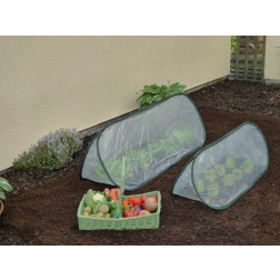 Large Pop-Up Garden Poly Cloche Cold Frame Mini Greenhouse 1.50m x 0.60m wide x 0.60m high