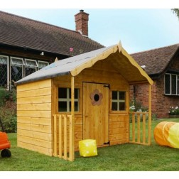 "Poppy 6' x 5'6"" Wooden Playhouse"