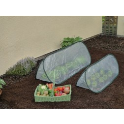 Small Pop-Up Garden Poly Cloche / Cold Frame / Mini Greenhouse 1.00m x 0.40m wide x 0.40m high
